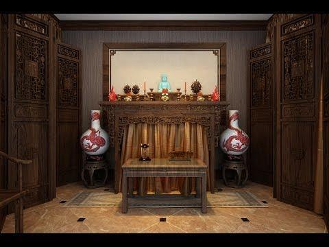 Thiết kế Bàn thờ gia tiên đẹp cho gia đình .