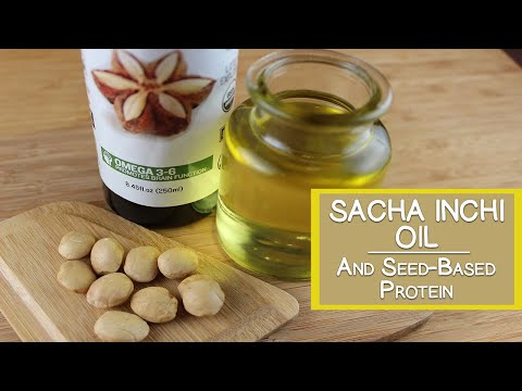 Sacha Inchi Oil and Seed-Based Protein Powders