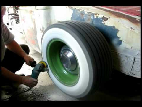 Making Wide Whitewalls for the ratrod