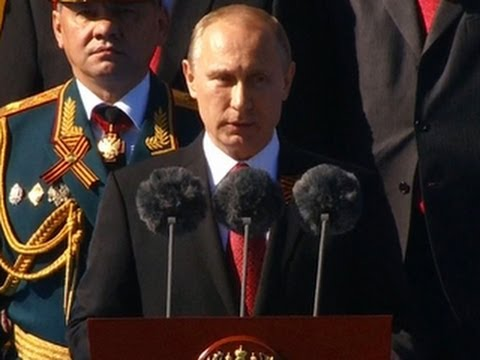 Putin arrives in Crimea to mark Victory Day