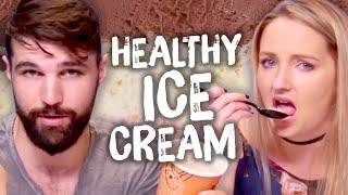 """6 So-Called """"Healthy"""" Ice Creams!? (Cheat Day)"""