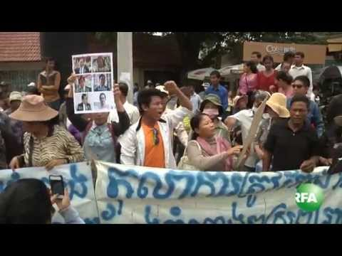 CNRP Supporters Keep on Demanding Release of Parliamentarians