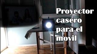 Cómo hacer un proyector para el móvil