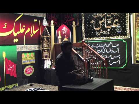 Dar e Abbas Houston 12th Muharram Allama Imran Haider Saqi Part 1 11 16 2013 Part 3