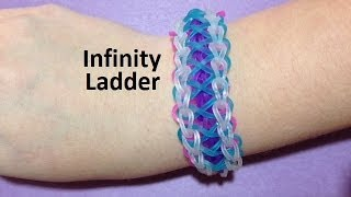 How To Make An Infinity Ladder Bracelet On The Rainbow