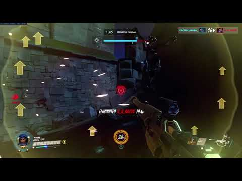 Overwatch: Slept an invisible Sombra