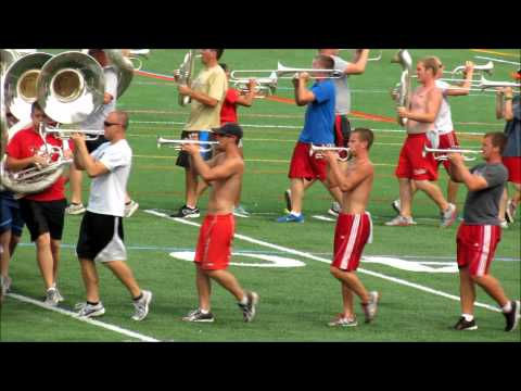 Script Ohio Practice 8 16 2012 Ohio State University Marching Band. TBDBITL
