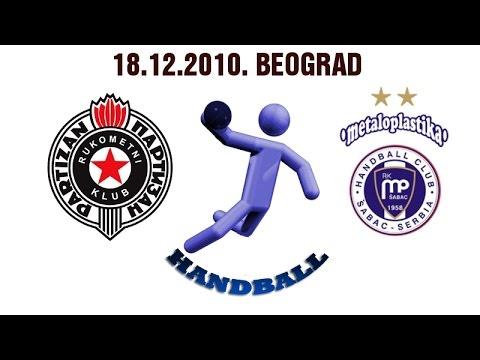 RK Partizan – RK Metaloplastika (18.12.2010.)