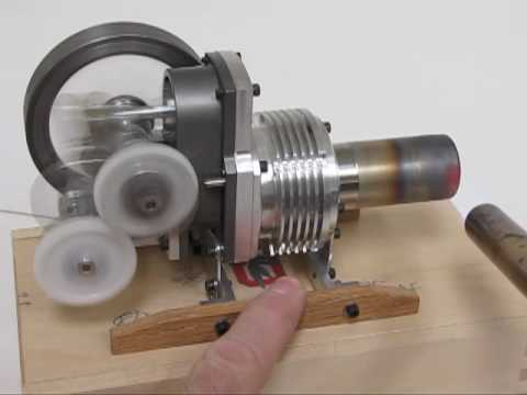 1 Quot Bore Yoke Drive Stirling Engine Youtube