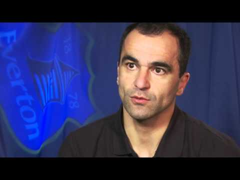 Roberto Martinez on Duncan Ferguson and Bryan Oviedo