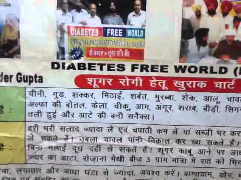 136th Free Diabetes & Thyroid Treatment Camp