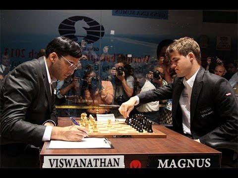 World Chess Championship 2013 - Game 9: Vishy Anand vs Magnus Carlsen : Nimzo-Indian Defense