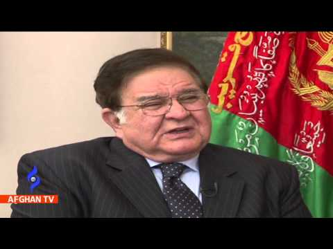 Afghan TV Spini Khabari Exclusive Interview with Abdul Rahim Wardak 11 Nov 2013