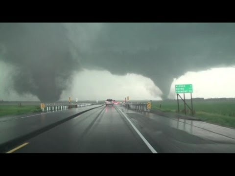 Extreme Weather: Double-Tornado Rips Through Nebraska