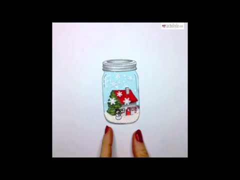Let It Snow Globe - Stop Motion Animation by Rachel Ryle