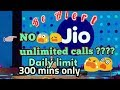 Jio 4G No More Unlimited Voice Calls Jio is limiting the voice calls by gyantool Gyan Tool