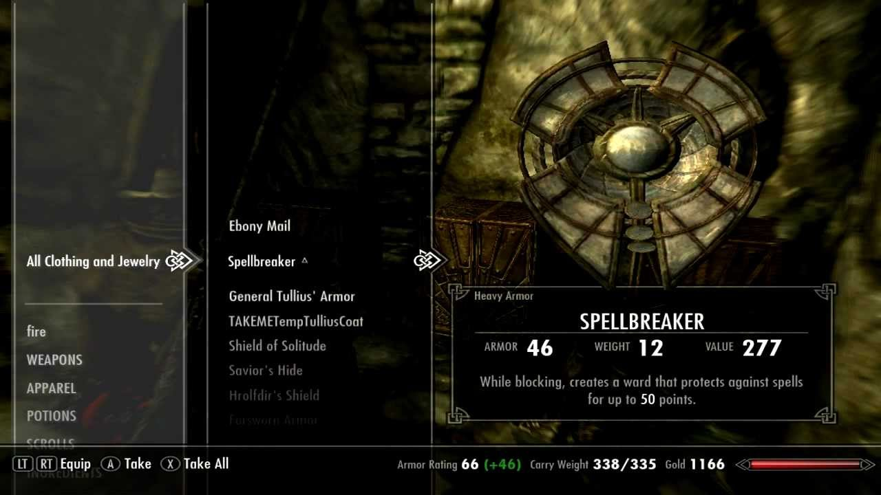 Skyrim All Items & Weapons Cheat! - YouTube