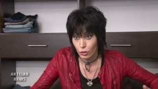 "JOAN JETT TALKS ABOUT HURRICANE SANDY DEVASTATION AND RECOVERY ON ""MAKE IT BACK"""