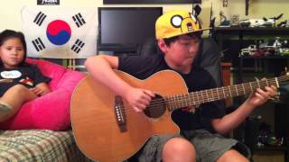 Adventure Time Ending Theme Song Island Song Acoustic