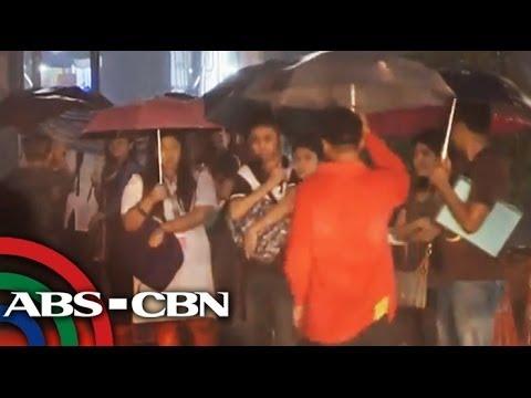 Rains cause floods, traffic in Metro Manila
