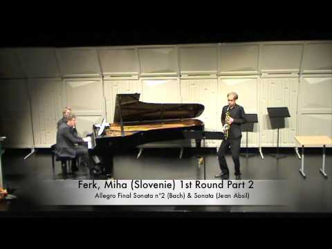 Ferk, Miha (Slovenie) 1st Round Part 2