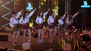 [Perf] 170117 T-ARA - So Crazy + Tiamo + Bo Peep Bo Peep + Roly Poly @ V LIVE YEAR END PARTY 2016 [1