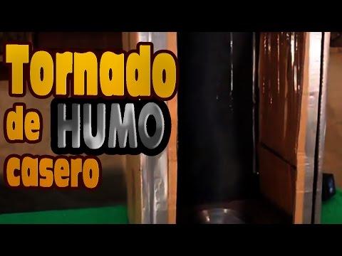 Tornado de humo casero - Tornado homemade smoke
