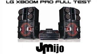 LG XBOOM PRO CM9940 Juanmanuelijo FULL TEST