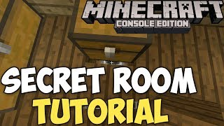 Minecraft Xbox & PS3: How To Make A Secret Room! 100%