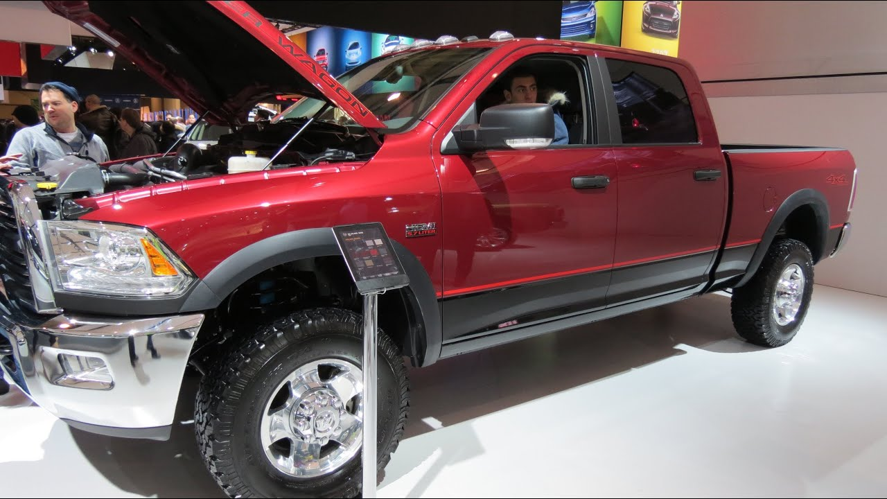 2013 dodge ram 2500 power wagon 4x4 at the 2013 canadian int auto show toront. Cars Review. Best American Auto & Cars Review