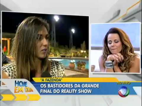 Final de A Fazenda 5  - Vivi Araújo x Nicole Bahls