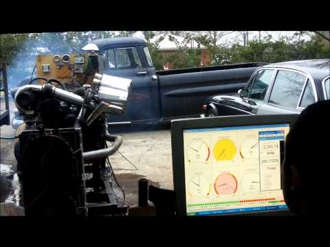 Home Built Dyno testing.wmv