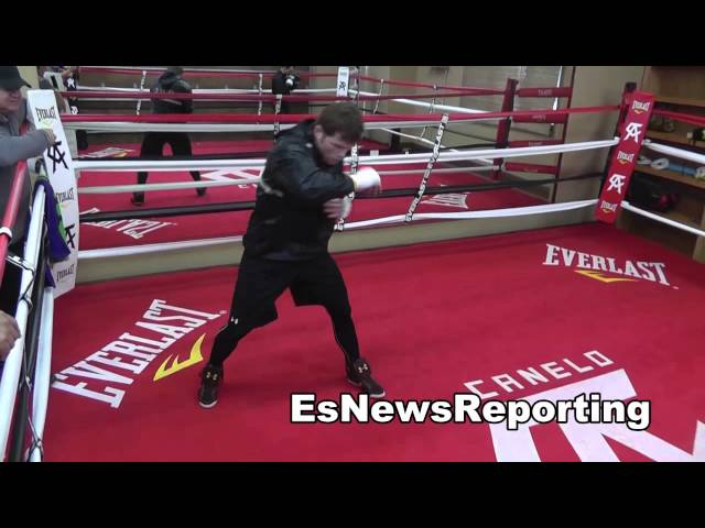 SAUL CANELO ALVAREZ VS PERRO ANGULO CANELO IN CAMP EsNews Boxing