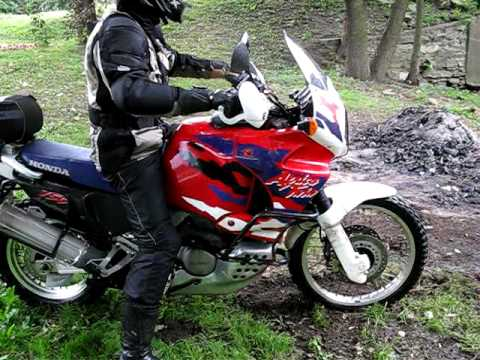 honda africa twin xrv 750 atav 2008 youtube. Black Bedroom Furniture Sets. Home Design Ideas