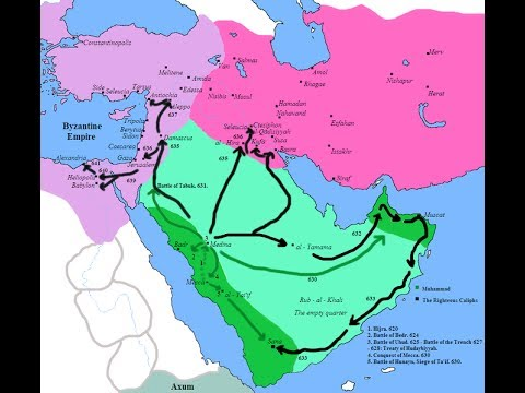Muslim Conquests And Spread Of Islam