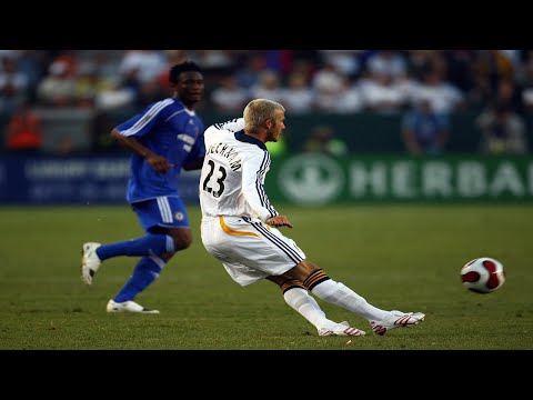 David Beckham - The Best Midfielder Ever [HD]