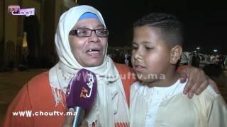 مواطنة مغربية متأثرة بدعاء الشيخ عمر القزابري بمسجد الحسن الثاني..شوفو أشنو قالت |