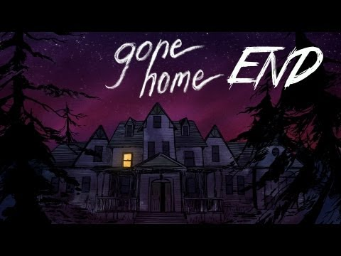 Gone Home - Part 7 | ENDING! | Interactive Exploration Game | Gameplay/Commentary
