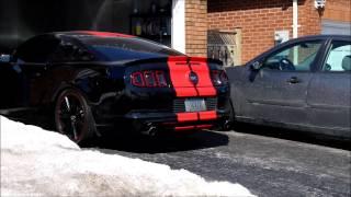 2014 Mustang GT Coldstart Roush Axlebacks + Resonator