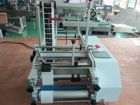 syringe labeling machine semi automatic manual labeler for pharmaceutical injection liquid container