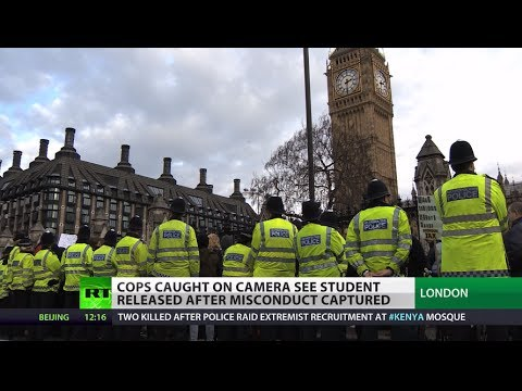 Cop Caught on Camera: Wrongly-accused UK protester released on video evidence
