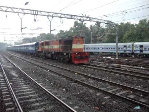 Indian Railways..When derailment & rains combine in Mumbai