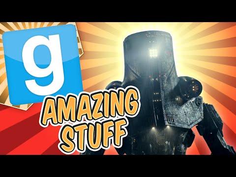 Gmod Amazing Stuff - Mech Battle