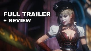 Movie Bytes: Batman Arkham Knights Official Trailer + Trailer Review: HD PLUS