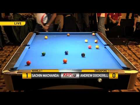 Sachin Machanda (Manila) vs Andrew Drockerill (Singapore)
