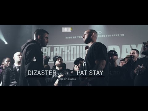 kotd rap battle pat stay vs dizaster title match