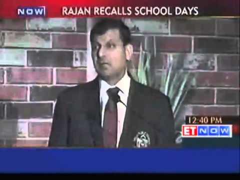 My parents couldn't afford a blazer for me: Raghuram Rajan