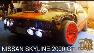 RC DRIFT CAR - NISSAN SKYLINE 2000 GT