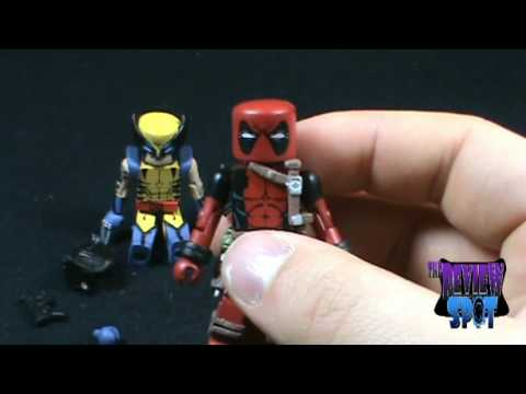 Toy Spot - Marvel Minimates Wolverine and Deadpool two pack, On today's Spot, we'll be having a look at the Marvel Minimates Wolverine and Deadpool two pack Music for The Review Spot's Intro provided by http://www.roya...