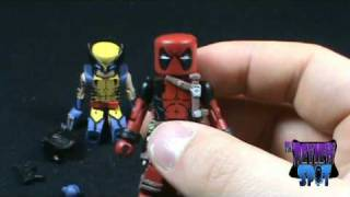 Toy Spot Marvel Minimates Wolverine And Deadpool Two